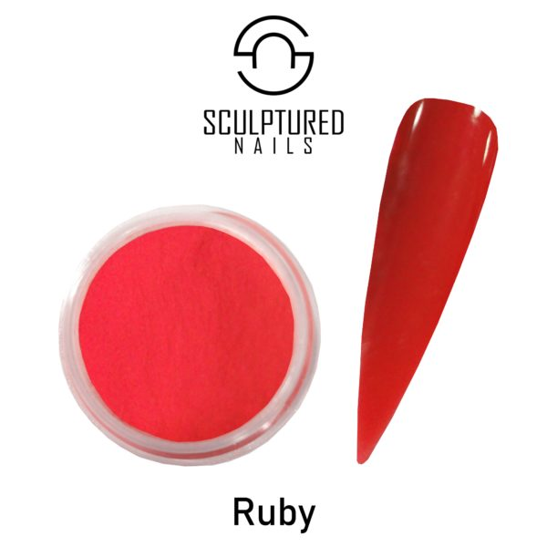 COLORED ACRYLIC POWDER RUBY