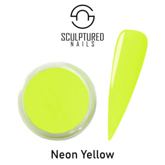 Colored Acrylic Powder NEON YELLOW