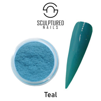 Colored Acrylic Powder TEAL