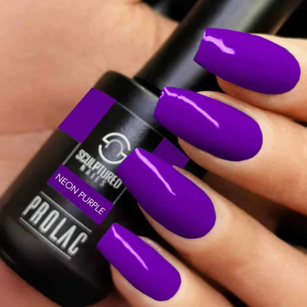 Prola Soak Off Gellac NEON PURPLE