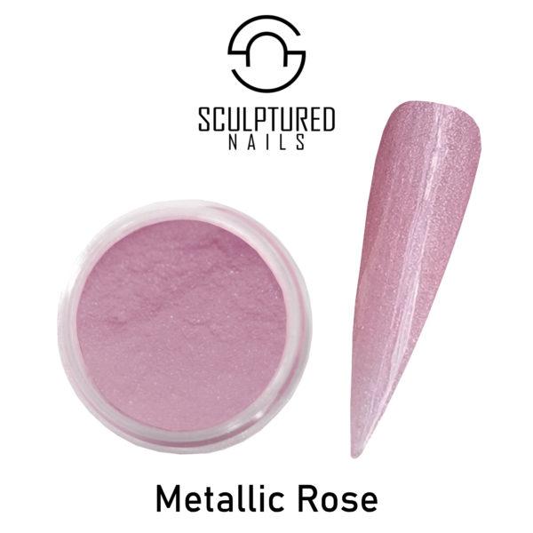 metallic rose 2