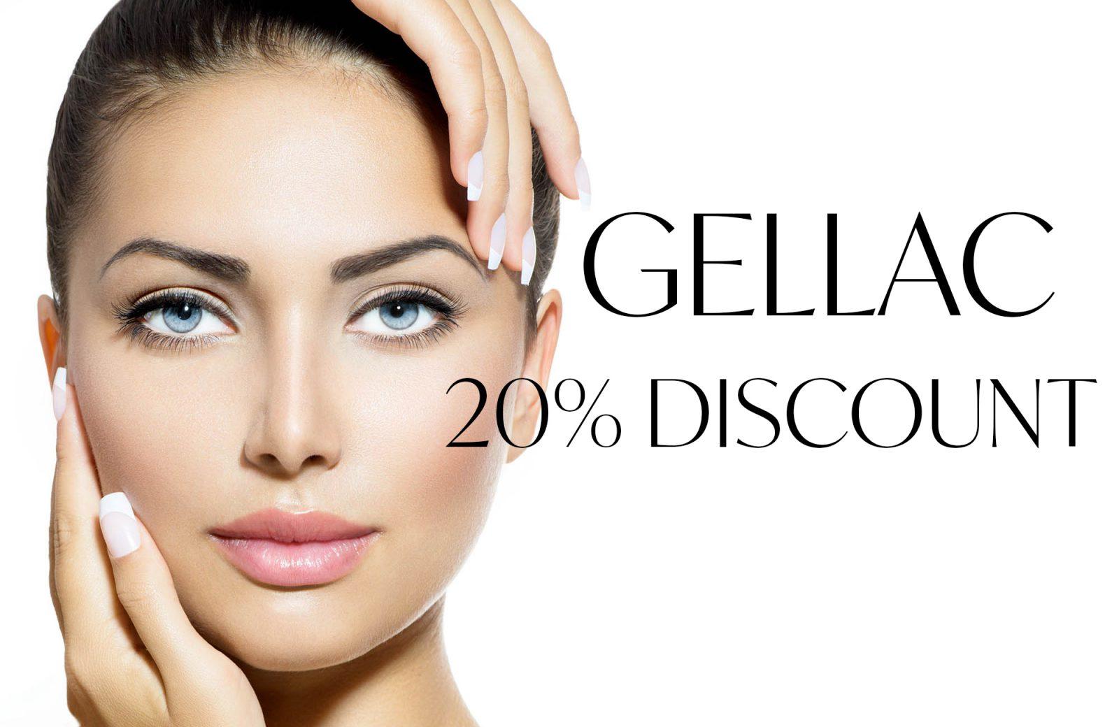 gellac 20% discount
