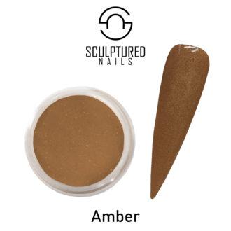 COLORED ACRYLIC POWDER AMBER