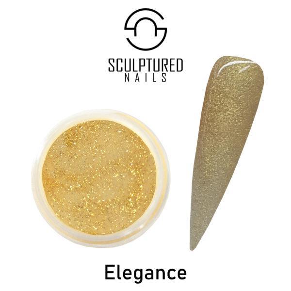 glitter acrylic powder elegance