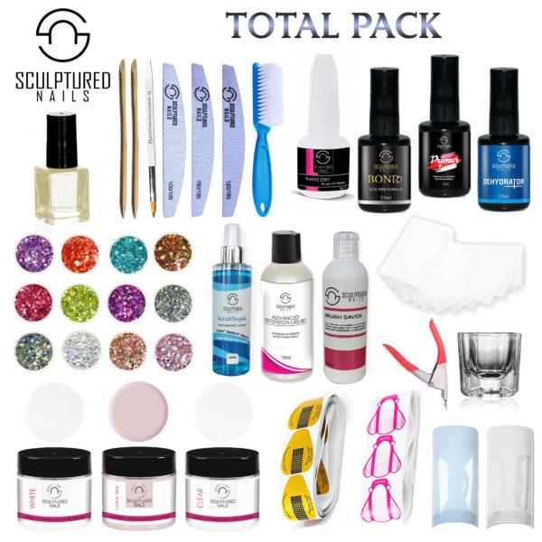 Acryl Nagels Starterspakket TOTAL-PACK