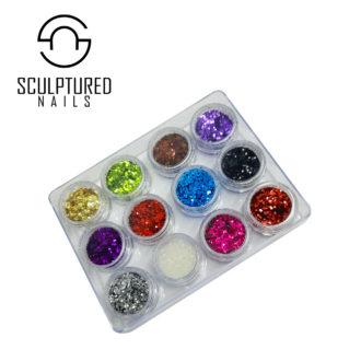 Dazzling Nail Glitter Sets