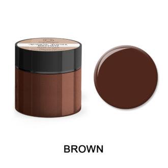 Colored Acrylic Powder BROWN 25gram