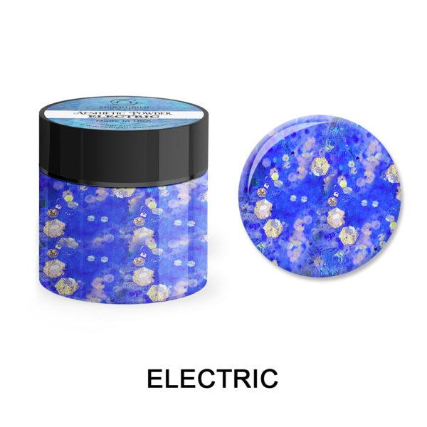 Glitter Acrylic Powder ELECTRIC 25gram
