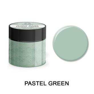 Colored Acrylic Powder PASTEL GREEN 25gram