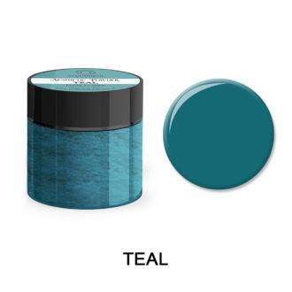 Colored Acrylic Powder TEAL 25gram